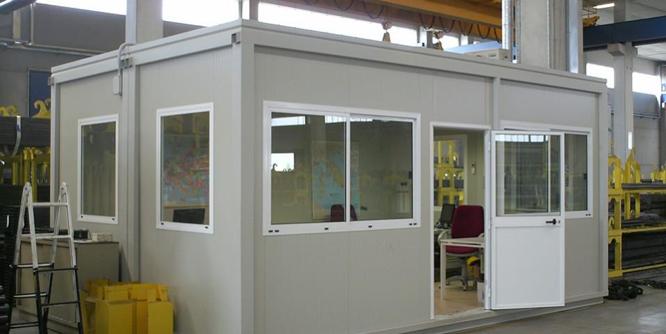 Prefabbricato ufficio per interni prefalp for Soluzioni per ufficio